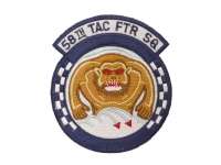 US army shop - Nášivka - 58th Tactical Fighter Squadron USAF