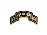 US army shop - Odznak CSIB - 75.regiment RANGER • 75th Ranger Regiment