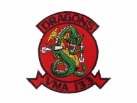 US army shop - Nášivka - Marine Attack Squadron 133 • Dragons