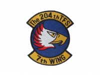 US army shop - Nášivka - 204th TFS 7th WING