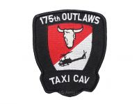 "US army shop - Nášivka - 175th OUTLAWS ""Taxi Cav"""