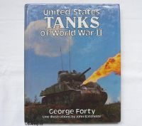 US army shop - ==VÝPRODEJ== Kniha: United States Tanks of  WWII