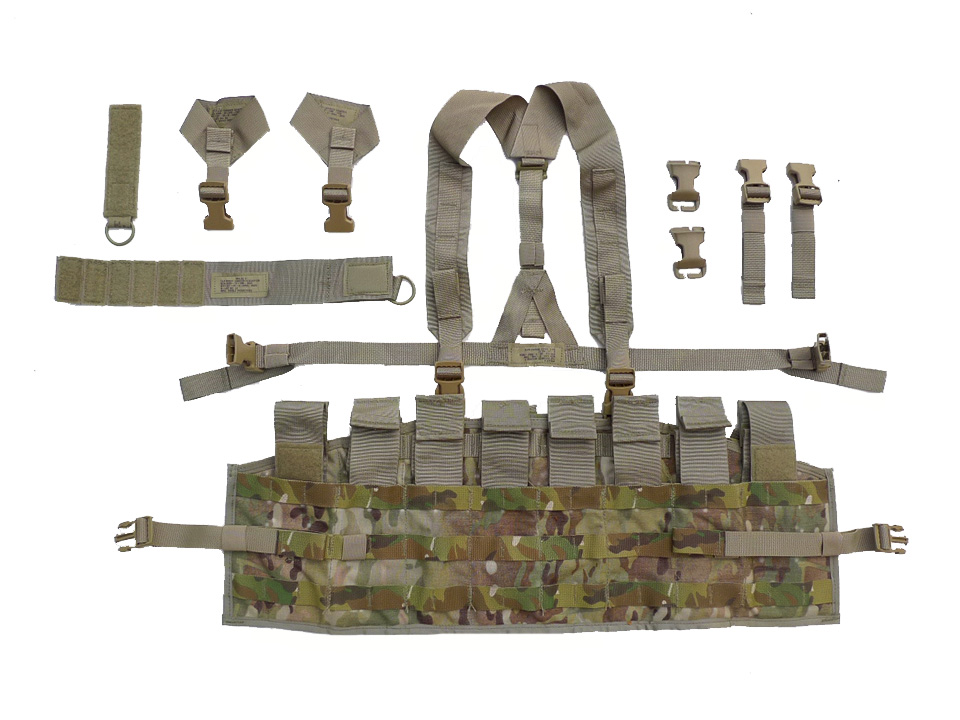 Image of Molle MULTICAM taktický panel - Chest Rig