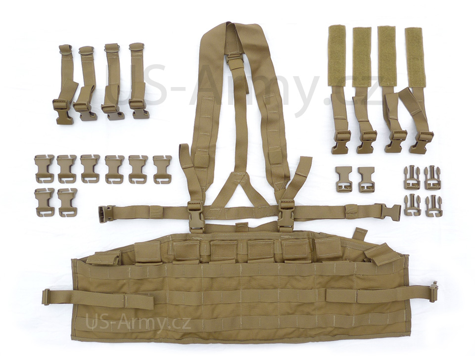 Image of Molle COYOTE taktický panel - USMC Chest Rig
