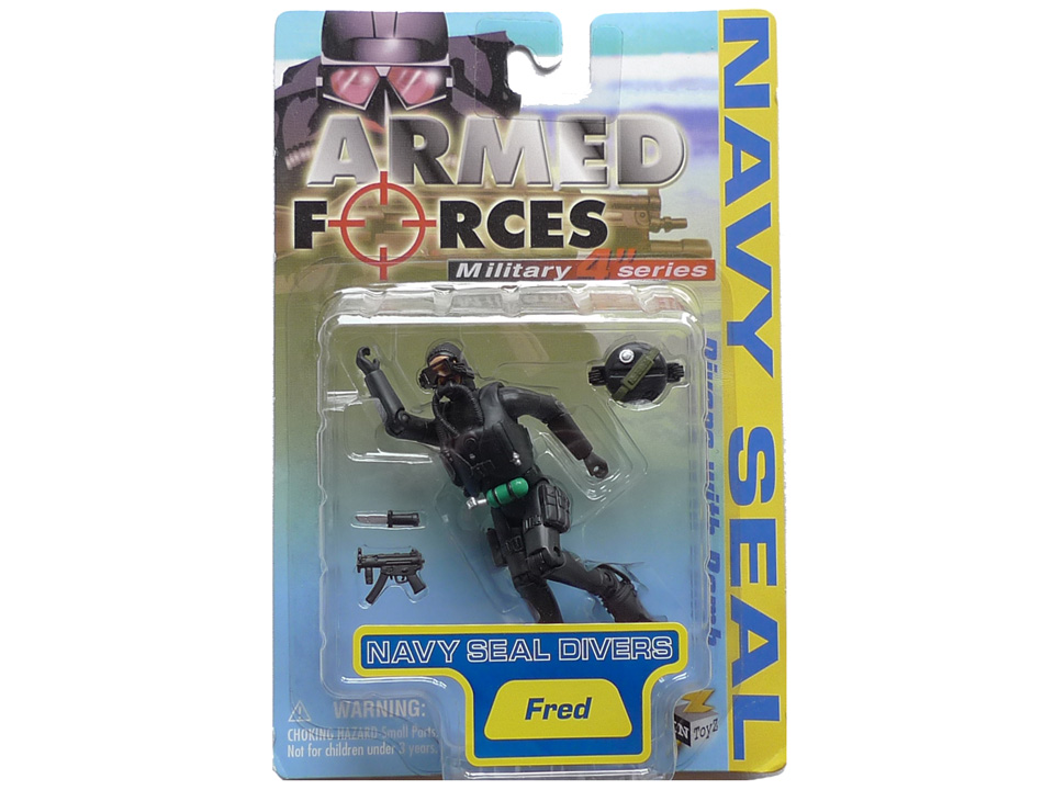 Image of Figurka 1:18, Navy Seals (1)