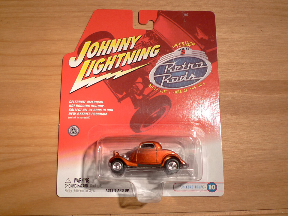 Image of Johnny Lightning: Ford Coupe 1934