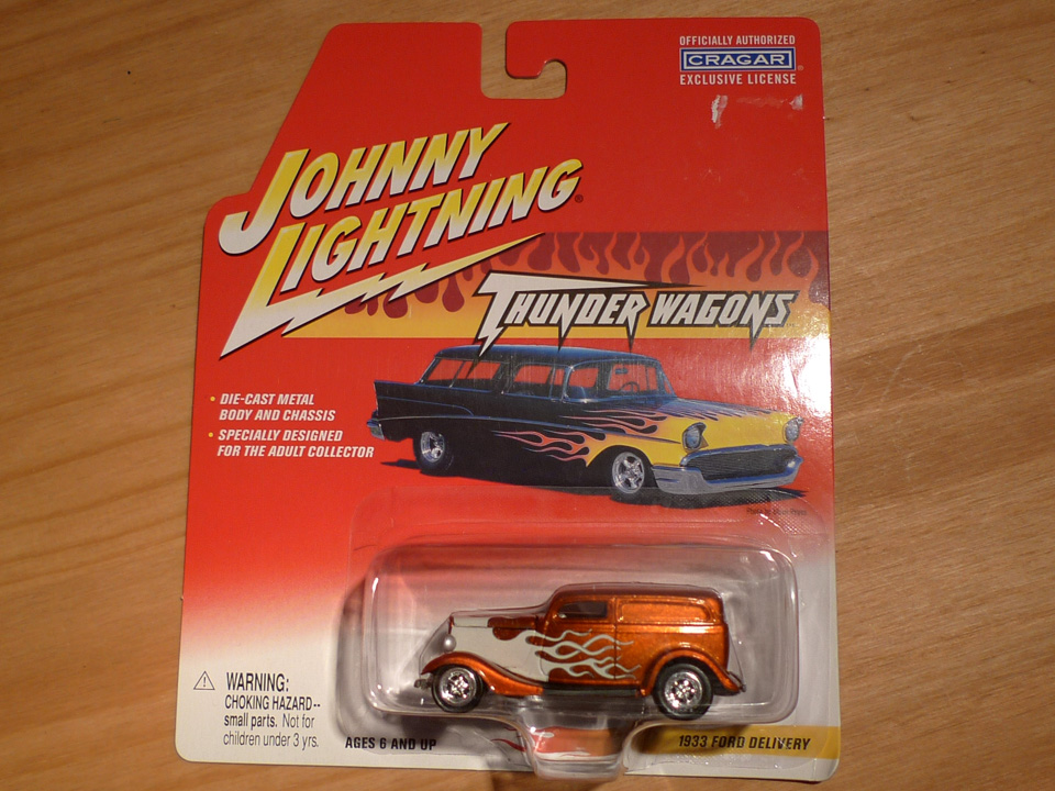 Image of Johnny Lightning: Ford Delivery 1933