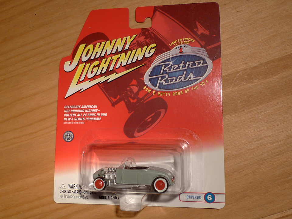 Image of Johnny Lightning: Emperor