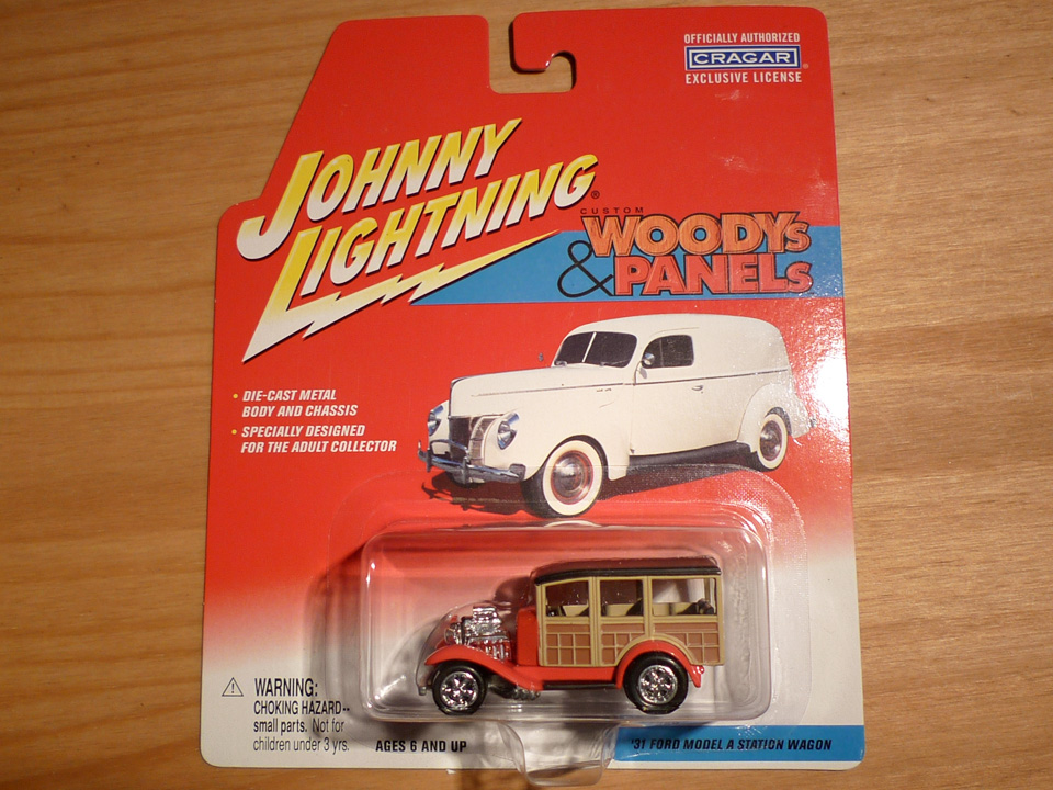 Image of Johnny Lightning: Ford Model A Station Wagon 1931
