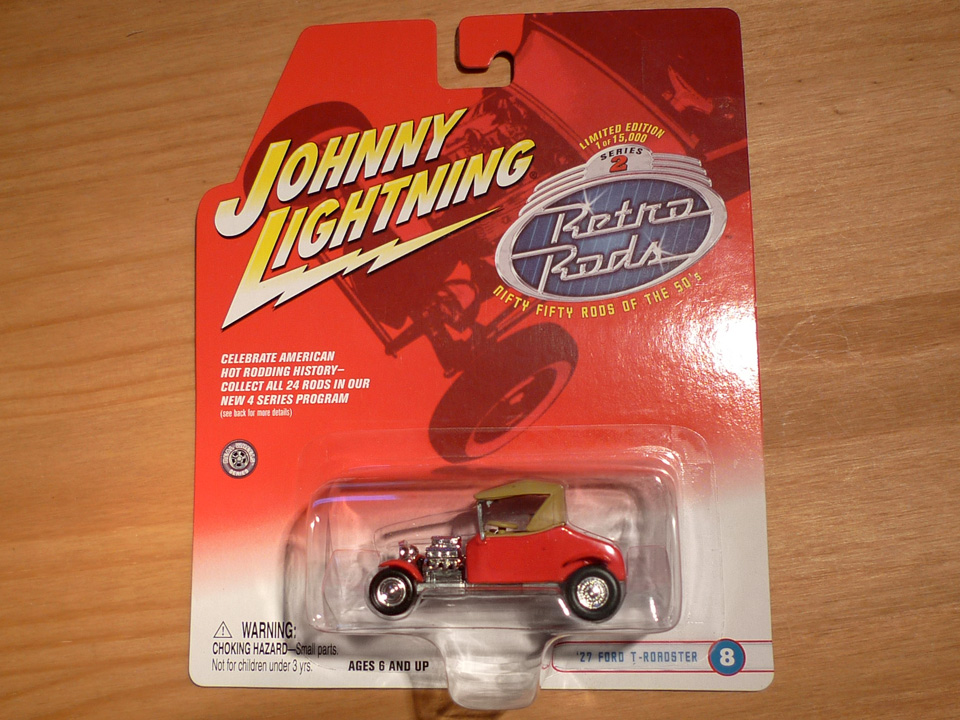 Image of Johnny Lightning: Ford T-Roadster 1927